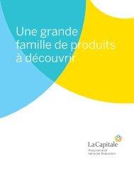 Une grande famille de produits à découvrir - La Capitale assurances ...