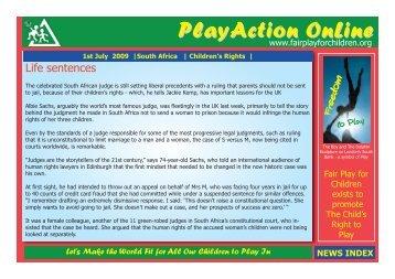 JOIN - Fair Play For Children