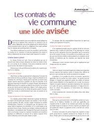 vie commune - La Capitale assurances générales