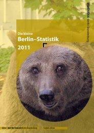 Berlin–Statistik 2011 - Amt für Statistik Berlin Brandenburg