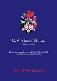 Prägegeräte - C.A. Starke-Verlag
