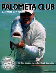 PALOMETA CLUB Ascension Bay, Mexico - Tailwaters Fly Fishing Co.