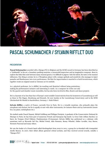 Download file: Fact Sheet - Monday Night Productions
