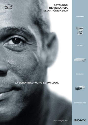 Gama de productos - Sony