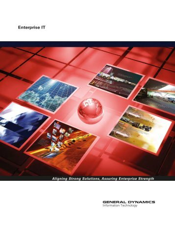 Enterprise IT Brochure - General Dynamics Information Technology