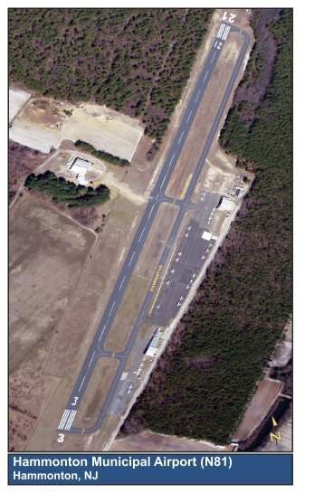 Hammonton Municipal Airport (N81)