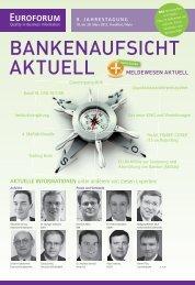 Neue Entwicklungen in der Bankenaufsicht - ib-bank-systems GmbH
