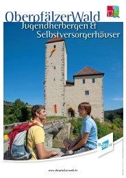 Jugendherbergen & Selbstversorgerhäuser - Oberpfälzer Wald