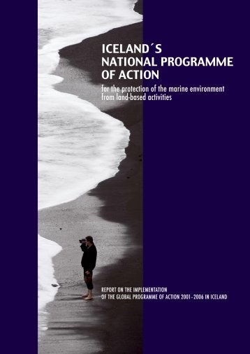 ICELAND´S NATIONAL PROGRAMME OF ACTION - Umhverfis- og ...