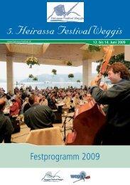 Programmheft 2009 - Heirassa-Festival