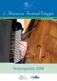 Programmheft 2008 - Heirassa-Festival