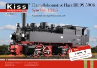 BR99 Mallet_RZ.indd - Kiss Modellbahnen