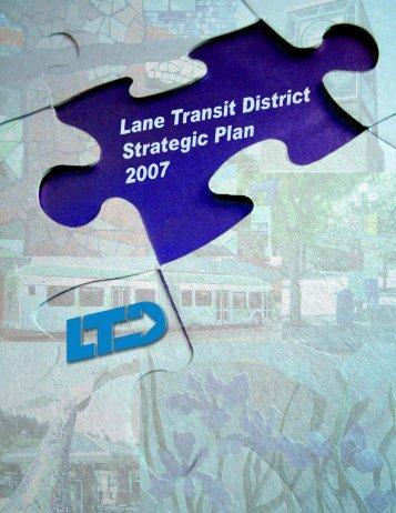 Strategic Plan - Lane Transit District