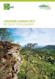 jurapark aargau 2013 die grüne schatzkammer - Gemeinde Herznach