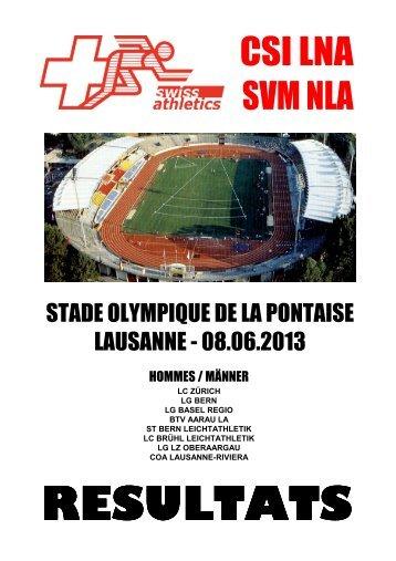CSI LNA - Lausanne-Sports athlétisme