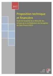 Proposition technique et financière (PDF - 127 KB) - COOPAMI