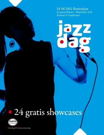 • 24 gratis showcases - Buma Cultuur