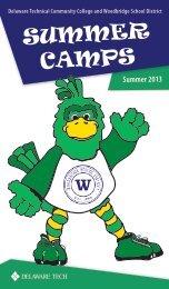 SUMMER CAMPS - Woodbridge School District