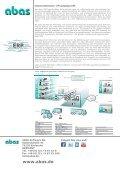 Kahlbacher steuert Unternehmensprozesse mit abas - Seite 6