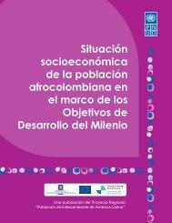 Situación socioeconómica de la población afrocolombiana en el ...