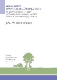 UmWeLteRkLäRUng 2008 - Stadtbetrieb Abwasserbeseitigung ...
