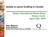 Wood Use in Venues - Dubai Woodshow