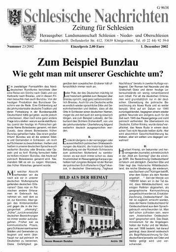 SCHLESIEN - oberschlesien-aktuell.de