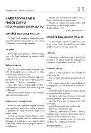 Izvješće o radu u Gradnićima - Pobijeni.info