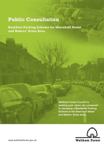 Public Consultation - Waltham Forest Council