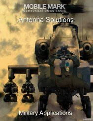 Antenna Solutions for Military Applications - Mobile Mark