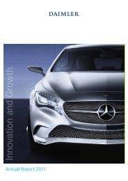 Daimler Annual Report 2011 - Alle jaarverslagen