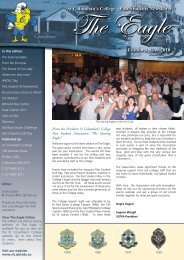 Past Students Newsletter Edition 4 - St Columban's College