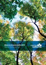bs 2010 bilancio sostenibilita 2010 - Appalti e contratti - Provincia di ...