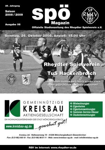TuS Hackenbroich 4c - staubesand.de