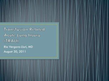 by Dr. Ria Vergara-Liuri. UCLA Pathology Resident, last updatesd 8 ...