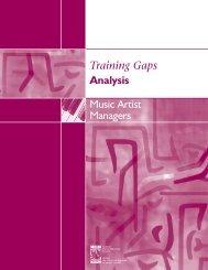 Music Artist Managers - Conseil des ressources humaines du ...