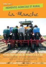 Mémento agricole - édition 2011 - 0,64 Mb