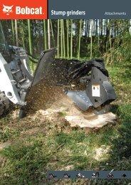 Stump grinders - Bobcat.eu