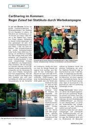 CarSharing im Kommen: Reger Zulauf bei ... - StattAuto Lübeck