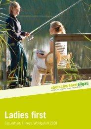 Ladies first - Oberschwaben Tourismus