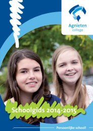 Schoolgids AC Wezep 2014-2015
