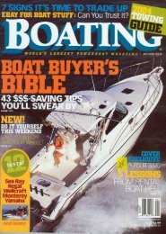 Boating Magazine, January 2004 - Pursuit Boats