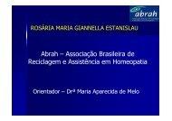 Abrah – Associação Brasileira de Reciclagem e Assistência em ...