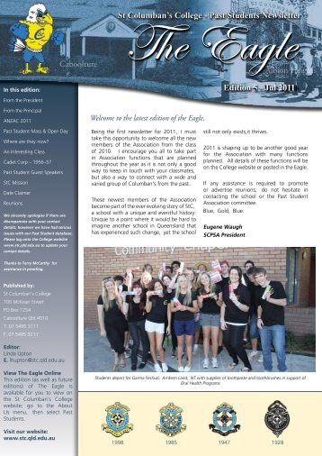 Albion Heights Caboolture St Columban's College - Past Students ...