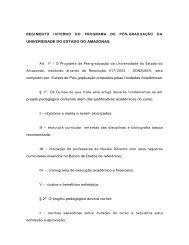 REGI MENTO I NTERNO DO PROGRAMA DE PÓS-GRADUAÇÃO ...