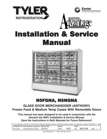 Installation service manual ism a5fgnt hillphoenix installation service manual hillphoenix publicscrutiny Image collections