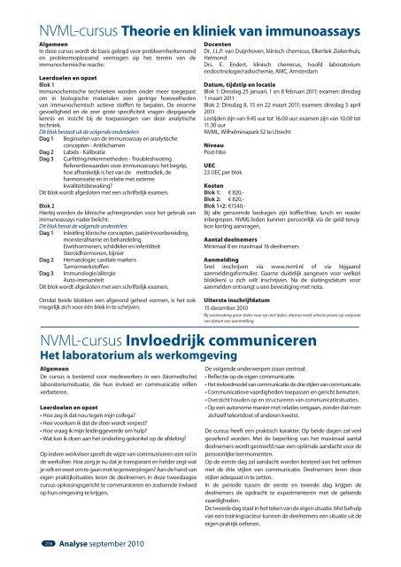 7 - Nederlandse Vereniging van bioMedisch ...