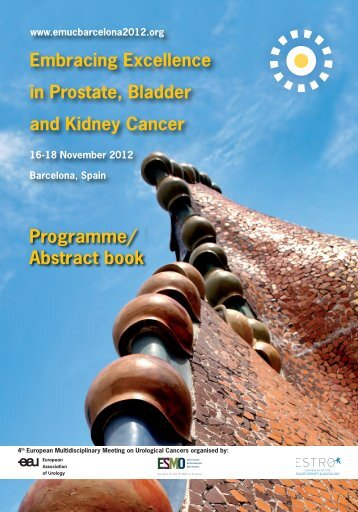 Programme/ Abstract book - EMUC Barcelona 2012