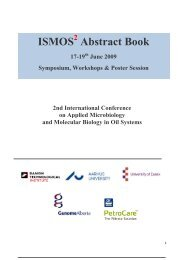 ISMOS Abstract Book - Danish Technological Institute