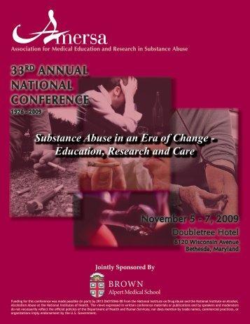 2009 Registration Brochure - AMERSA